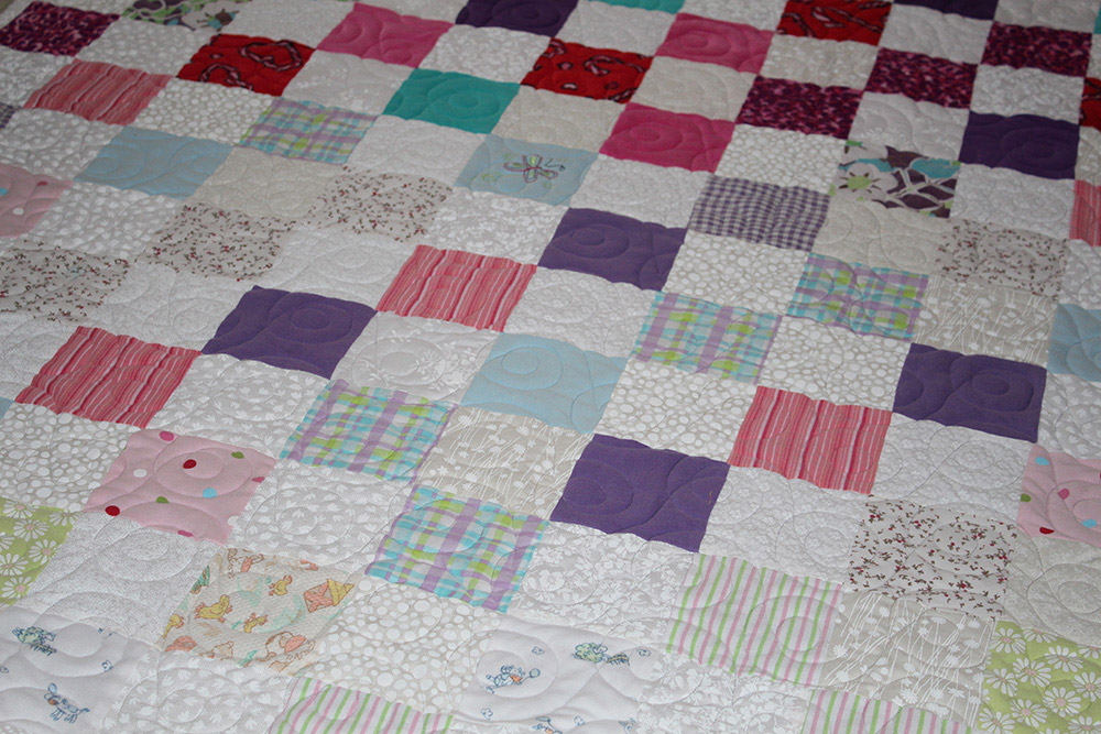 Baby Clothes Quilt (1)