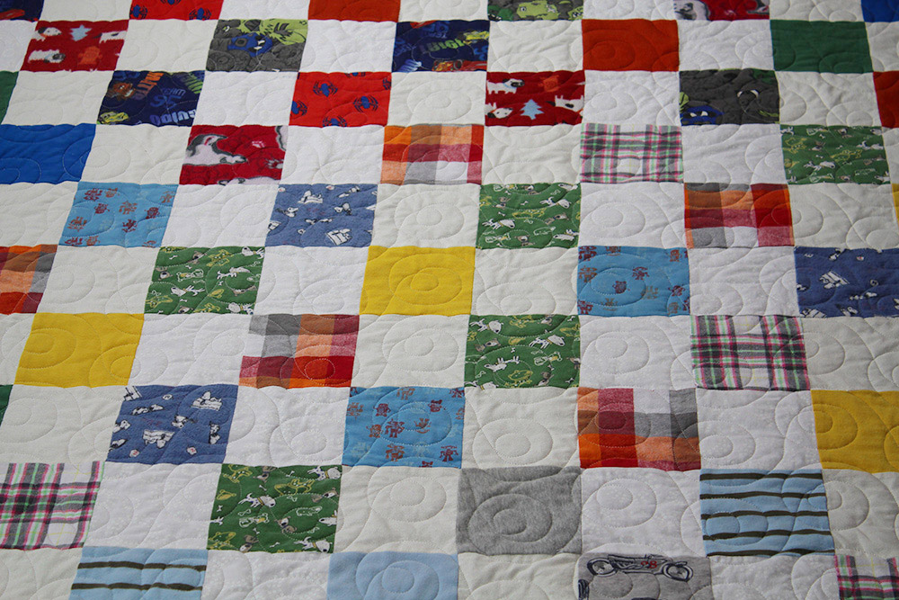 Baby Clothes Quilt (2)