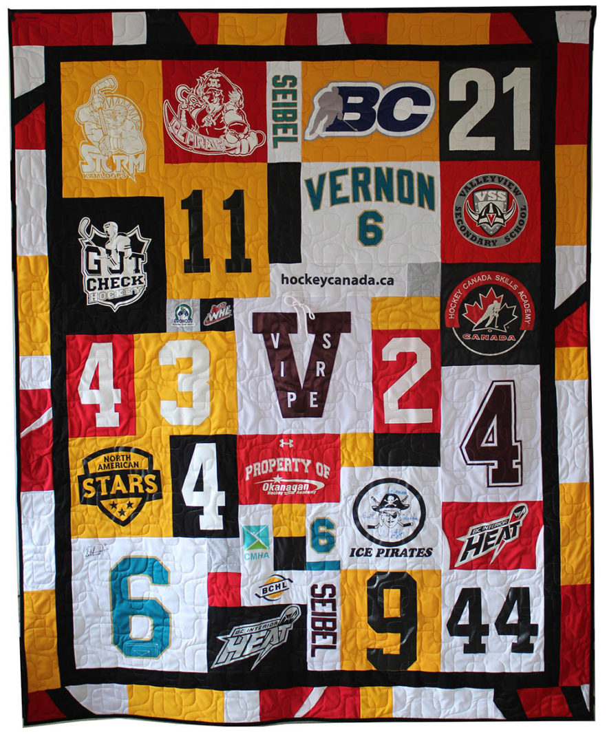 T-Shirt / Jersey Quilt (1)
