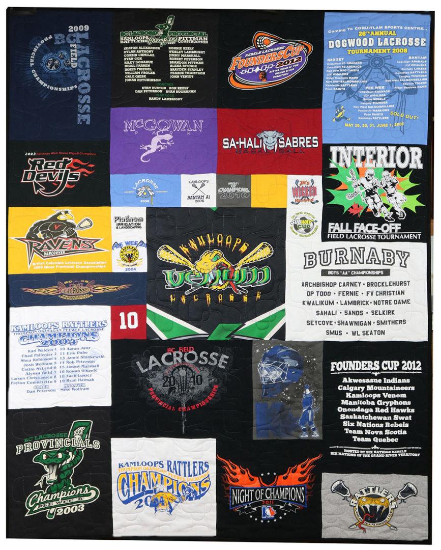 T-Shirt / Jersey Quilt (2)