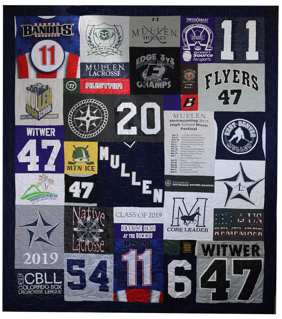 T-Shirt / Jersey Quilt (3)