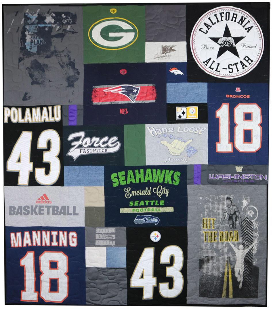 T-Shirt / Jersey Quilt (4)
