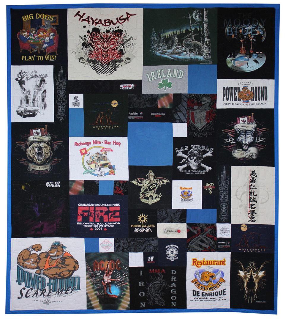 T-Shirt / Jersey Quilt (10)