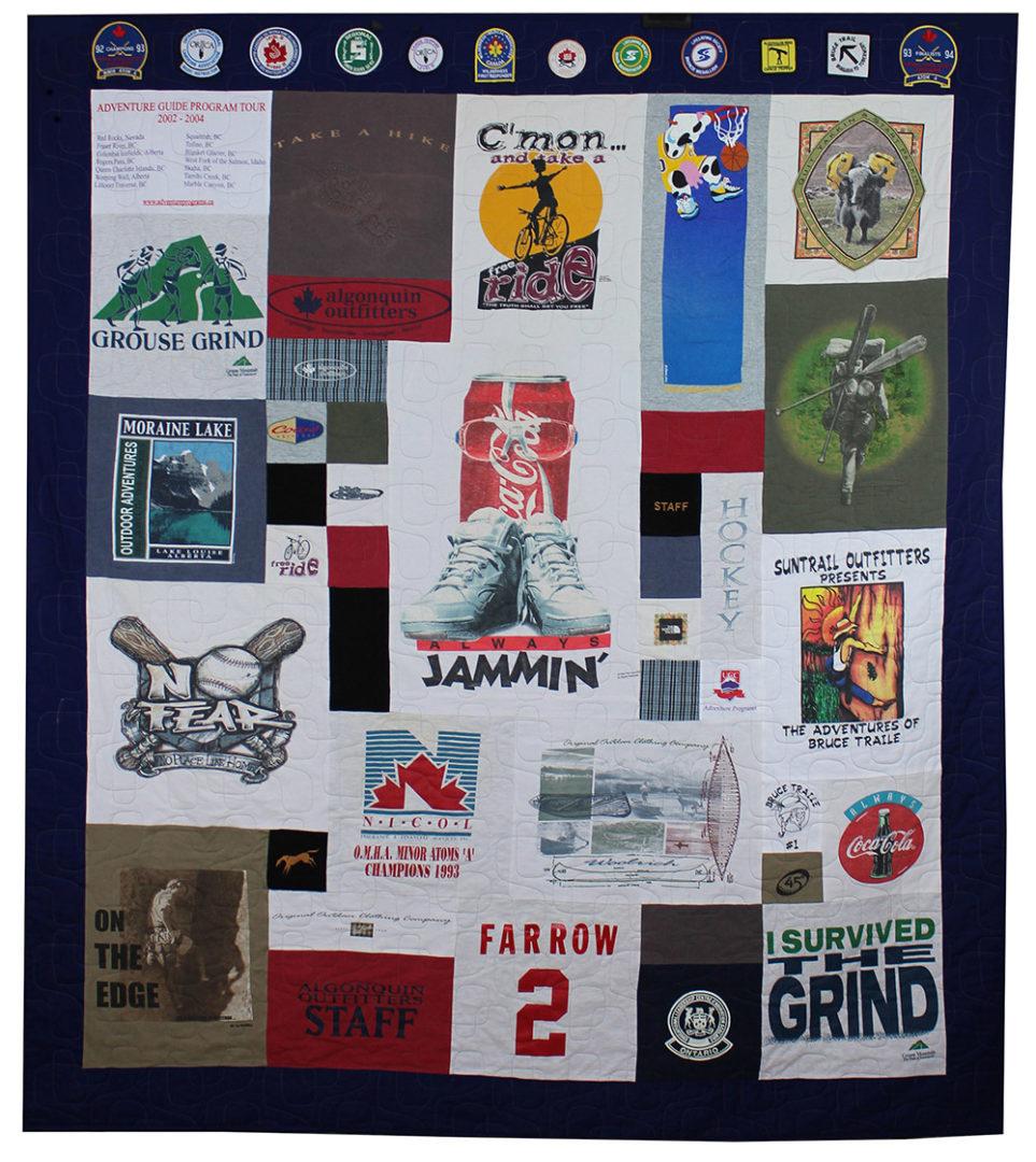 T-Shirt / Jersey Quilt (12)