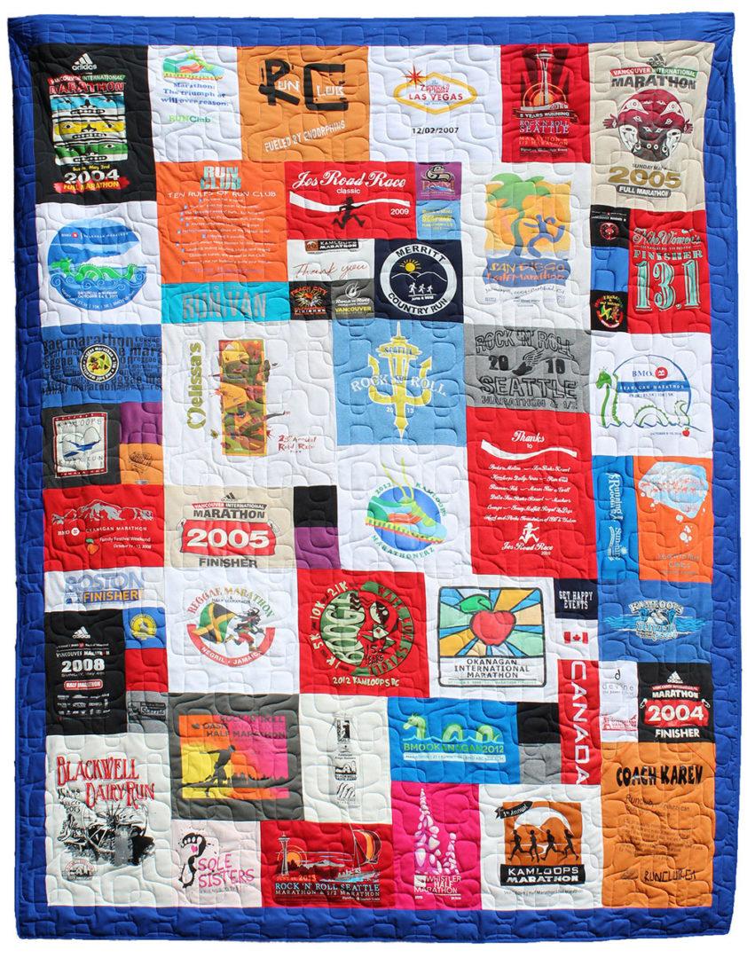 T-Shirt / Jersey Quilt (15)