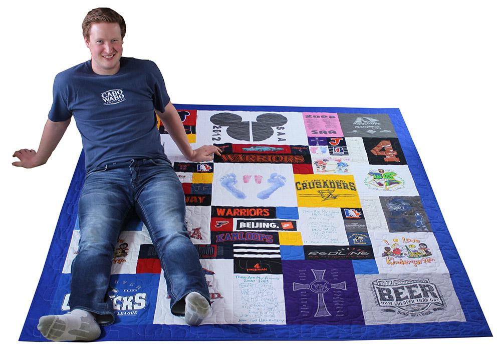T-Shirt / Jersey Quilt (24)