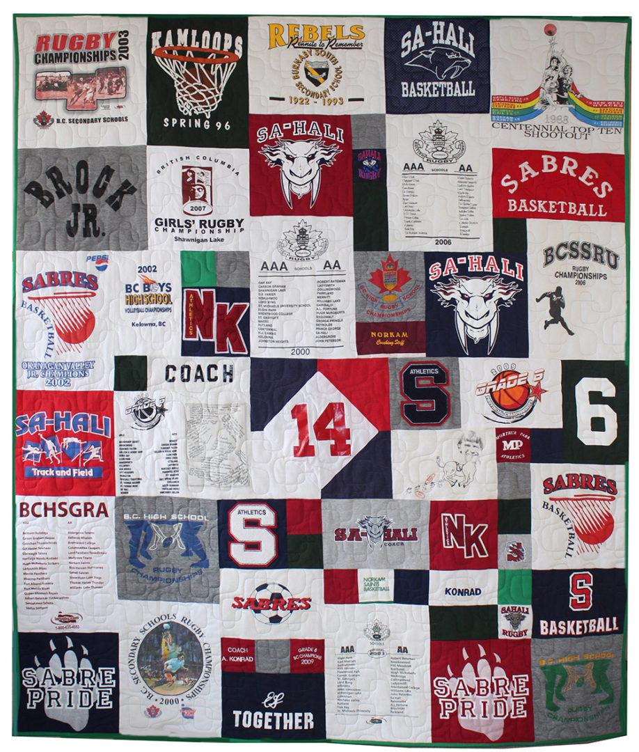 T-Shirt / Jersey Quilt (20)