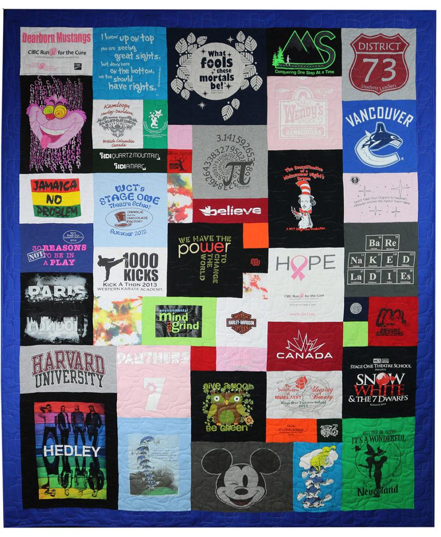 T-Shirt / Jersey Quilt (19)