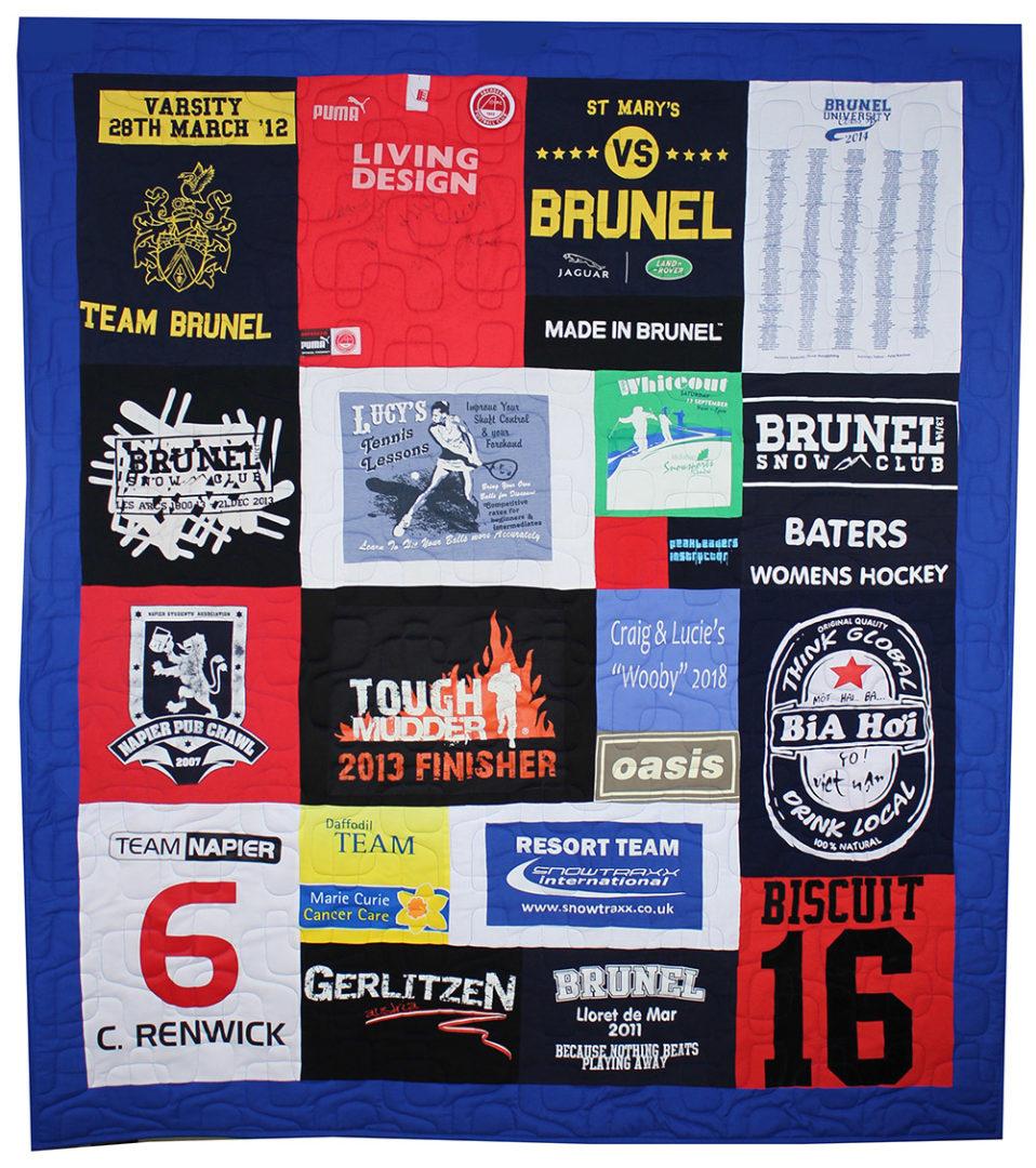 T-Shirt / Jersey Quilt (22)